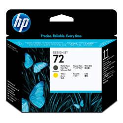 HP C9384A HP72 プリントヘッド マットブラック/イエロー 純正