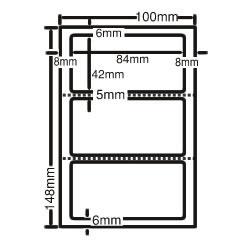 ナナ CLH-26 レーザープリンタ用ラベル ハガキサイズ
