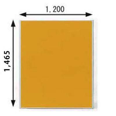 ローパーテーション MPシリーズ 高さ1465mm 幅1200mm オレンジ