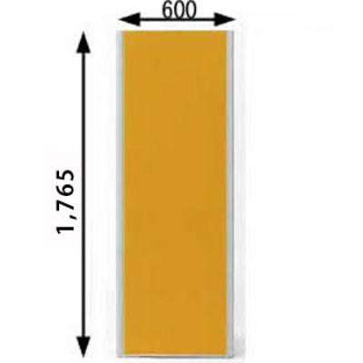 ローパーテーション MPシリーズ 高さ1765mm 幅600mm オレンジ