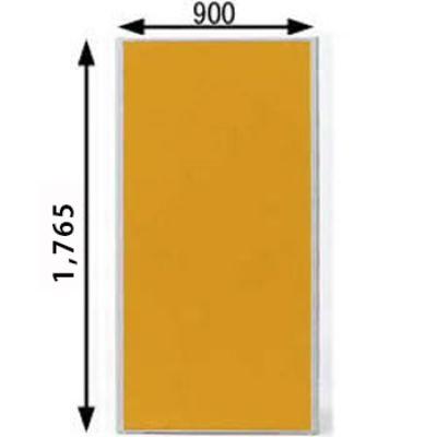 ローパーテーション MPシリーズ 高さ1765mm 幅900mm オレンジ