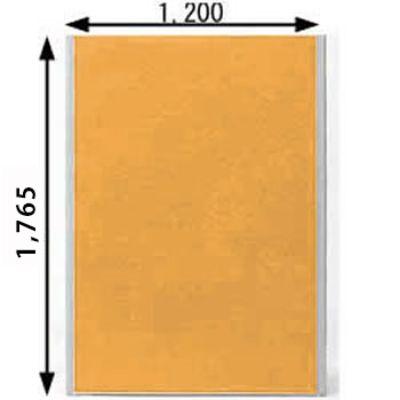 ローパーテーション MPシリーズ 高さ1765mm 幅1200mm オレンジ
