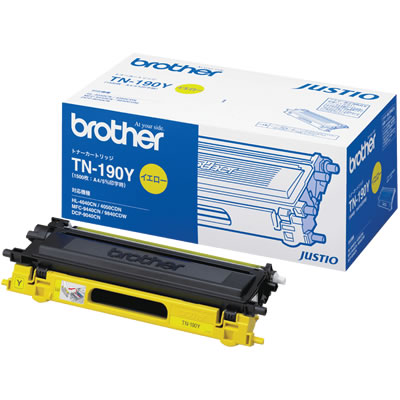 BROTHER TN-190Y トナーカートリッジ イエロー 純正