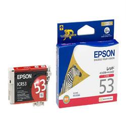 EPSON ICR53 インクカートリッジ レッド 純正