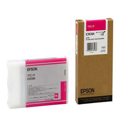 EPSON ICM38A インクカートリッジ マゼンタ 純正