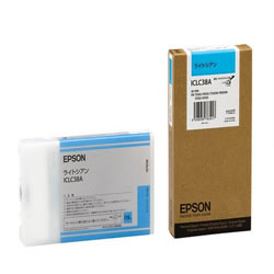 EPSON ICLC38A インクカートリッジ ライトシアン 純正