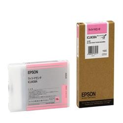 EPSON ICLM38A インクカートリッジ ライトマゼンタ 純正