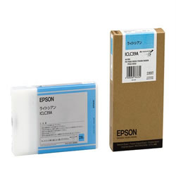 EPSON ICLC39A インクカートリッジ ライトシアン 純正