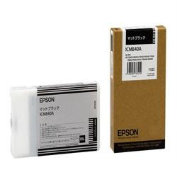 EPSON ICMB40A インクカートリッジ マットブラック 純正