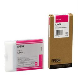 EPSON ICM40A インクカートリッジ マゼンタ 純正