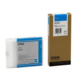 EPSON ICC41A インクカートリッジ シアン 純正
