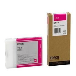 EPSON ICM41A インクカートリッジ マゼンタ 純正