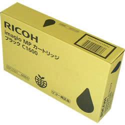 RICOH 600017 MPカートリッジ ブラック C1600 純正