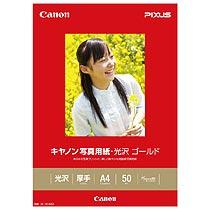 CANON 2310B007 写真用紙・光沢 ゴールド A4 GL-101