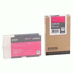 EPSON ICM54M インクカートリッジM マゼンタ 純正
