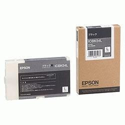 EPSON ICBK54L インクカートリッジL ブラック 純正