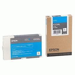 EPSON ICC54L インクカートリッジL シアン 純正