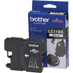 BROTHER LC11BK インクカートリッジ 黒