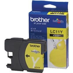 BROTHER LC11Y インクカートリッジ イエロー