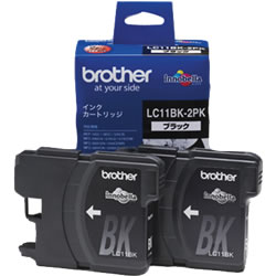 BROTHER LC11BK-2PK インクカートリッジ 黒2個パック
