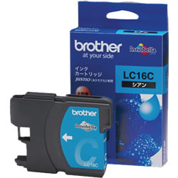 BROTHER LC16C 大容量インクカートリッジ シアン