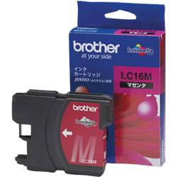 BROTHER LC16M 大容量インクカートリッジ マゼンタ