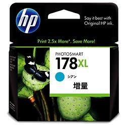 HP CB323HJ HP178XL インクカートリッジ シアン 増量 純正