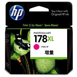 HP CB324HJ HP178XL インクカートリッジ マゼンタ 増量 純正