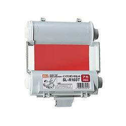 マックス SL-R103Tアカ ビーポップ100タイプインクリボン 赤