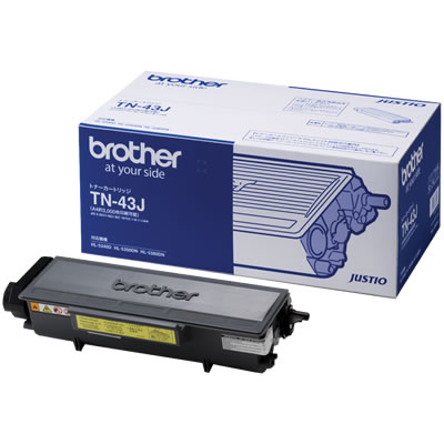 BROTHER TN-43J トナーカートリッジ 純正