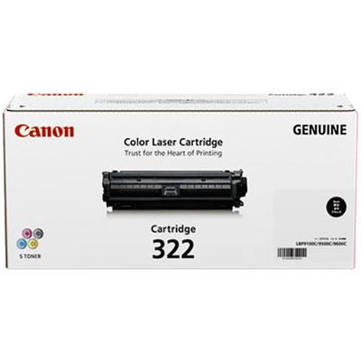 CANON 2652B001 トナーカートリッジ322 ブラック 国内純正