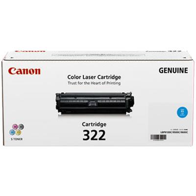 CANON 2650B001 トナーカートリッジ322 シアン 国内純正