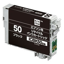 エコリカ ECI-E50B リサイクルインク ブラック