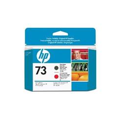 HP CD949A HP73 プリントヘッド マットブラック/クロムレッド