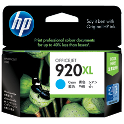 HP CD972AA HP920XL インクカートリッジ シアン