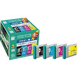 エコリカ ECI-BR104P/BOX  リサイクルインク 4色セット
