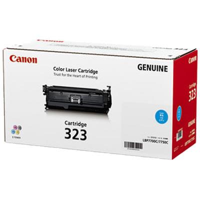 CANON 2643B003 トナーカートリッジ323 シアン 国内純正