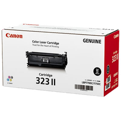 CANON 2645B003 トナーカートリッジ323II ブラック 国内純正
