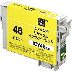 エコリカ ECI-E46Y リサイクルインク イエロー