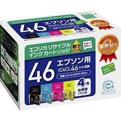 エコリカ ECI-E464P/BOX リサイクルインク 4色パック