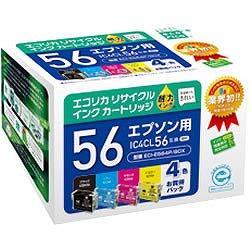 エコリカ ECI-E564P/BOX リサイクルインク 4色パック