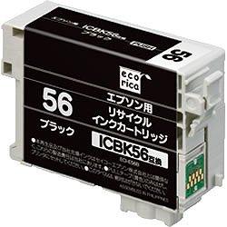 エコリカ ECI-E56B リサイクルインク ブラック