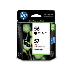 HP CC629AA HP56/57 黒・カラーパック 純正