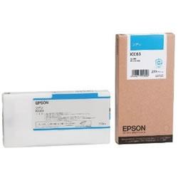 EPSON ICC63 インクカートリッジ シアン 純正