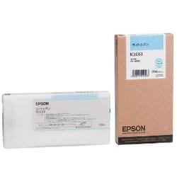 EPSON ICLC63 インクカートリッジ ライトシアン 純正