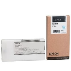 EPSON ICMB63 インクカートリッジ マットブラック 純正