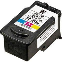 エコリカ ECI-C311C-V リサイクルインク 3色カラー
