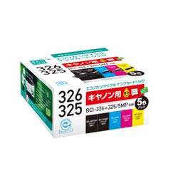 エコリカ ECI-C325+3265P/BOX リサイクルインク 5色P