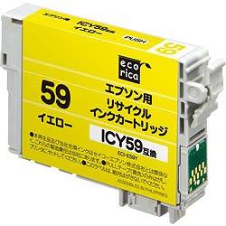 エコリカ ECI-E59Y リサイクルインク イエロー