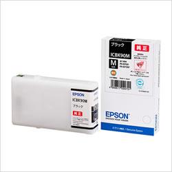 EPSON ICBK90M インクカートリッジ ブラック Mサイズ 純正